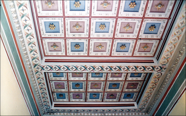 Restauro di soffitti lignei rosa restauri